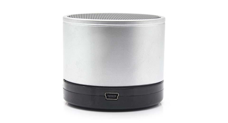 Мини портативная MP3 колонка от USB FM S10 Silver
