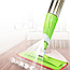 Швабра с распылителем Healthy Spray Mop зеленая Cleaner для мытья лентяйка, фото 2