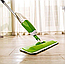 Швабра с распылителем Healthy Spray Mop зеленая Cleaner для мытья лентяйка, фото 5