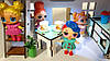 Домик для кукол LOL 2204 Сельский домик с мебелью, текстилем, светом, фермой и мельницей, фото 3