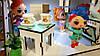 Домик для кукол LOL 2204 Сельский домик с мебелью, текстилем, светом, фермой и мельницей, фото 4