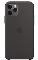 Чехол Apple Silicone Case Iphone 11 Pro Max (Black) Премиум качество