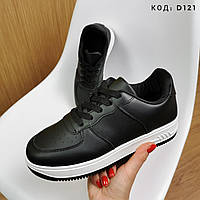 Кросівки жіночі чорні 38=24,5см