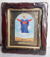 Икона Богородицы Спорительница хлебов 35х30см