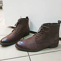 Ботинки мужские темно-коричневые Kiomi, 42
