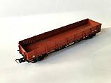 Платформа универсальная 4-осная с наращенными бортами модели 13-4012,СЖД  H0, 1/87, фото 2