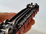 Платформа универсальная 4-осная с наращенными бортами модели 13-4012,СЖД  H0, 1/87, фото 5