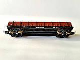 Платформа универсальная 4-осная с наращенными бортами модели 13-4012,СЖД  H0, 1/87, фото 6