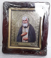 Икона Преподобный Серафим Саровский 35х30см