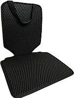 Защитный коврик под детское автокресло. Цвет черный. Детские автокресла, аксессуары, фото 1