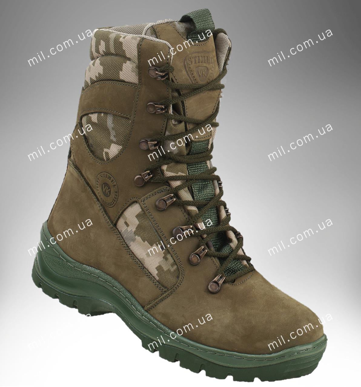 Берцы демисезонные / военная, тактическая обувь GROZA ММ14 (оливковый)