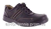 Мужские туфли CLARKS SLONE MENS BLACK OILY LEATHER  original Распаровка!  Правый на пол размера (0.5см) больше