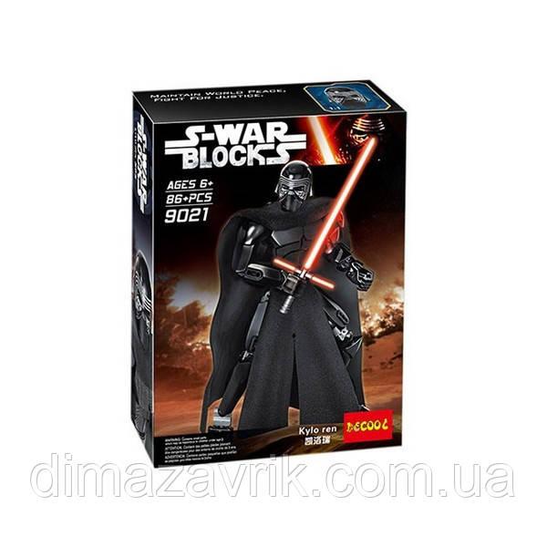 """Конструктор Decool 9021 (Аналог Lego Star Wars 75117) Звездные Войны """"Кайло Рен"""" 86 деталей"""