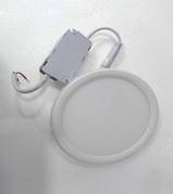 Врезной светильник с регулирующимся расстоянием для врезки (круг, 12см, 8W, нейтральный свет)