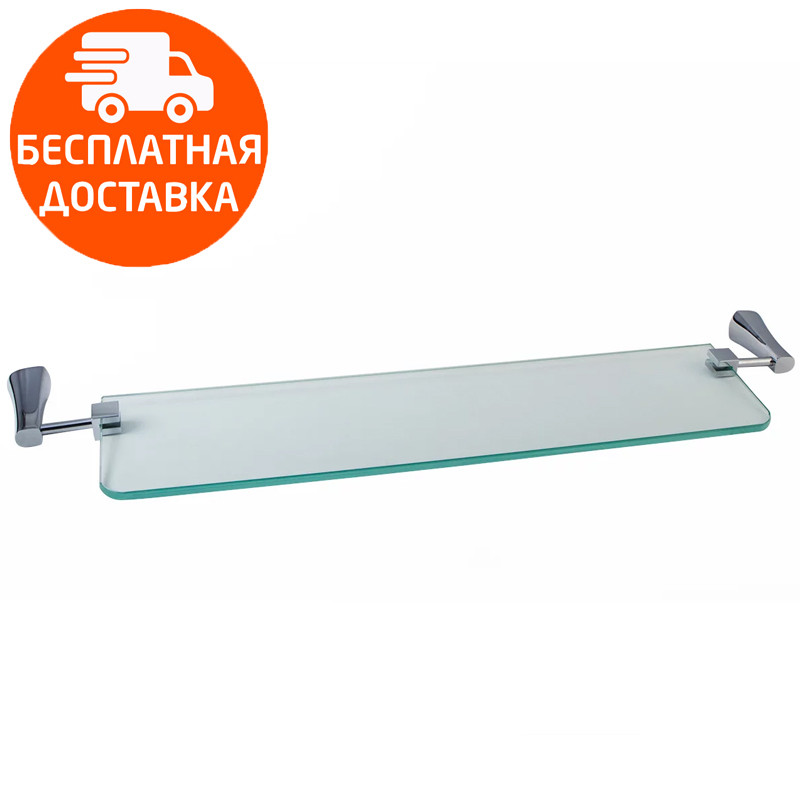 Стеклянная полочка Imprese Cuthna 160280 STRIBRO хром