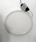 Врезной светильник с регулирующимся расстоянием для врезки (круг, 15см, 15W, нейтральный свет)