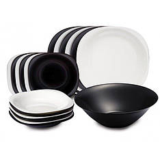 Сервиз Luminarc Carine Black/White из 19 предметов (N1491)