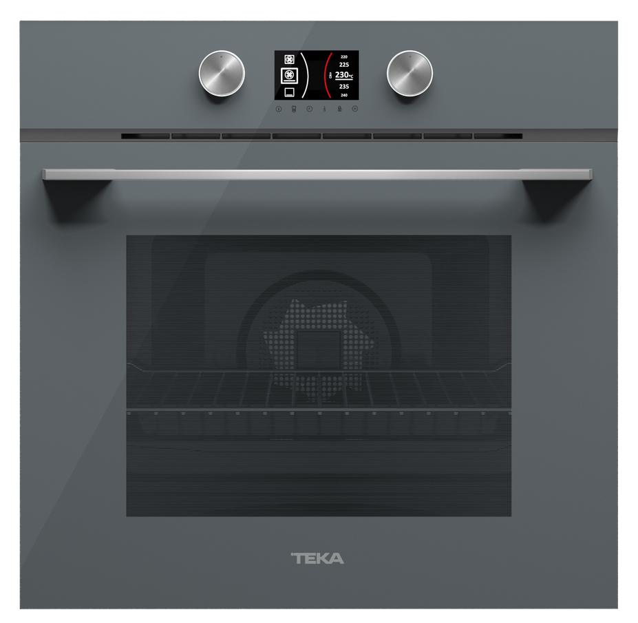 Духовой шкаф с пиролизом TEKA HLB 8600 P ST темно серый