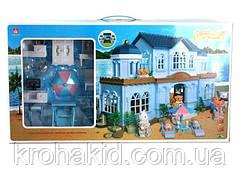 Домик с флоксовыми животными Happy Family 012-11 Загородный Домик (аналог Sylvanian Families)