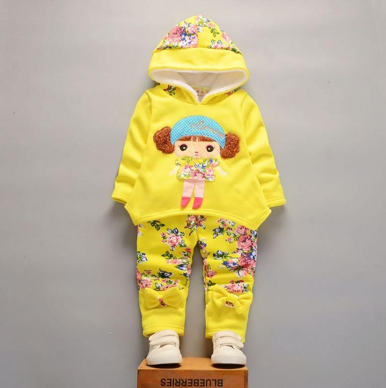 Костюм для девочек Girl желтый
