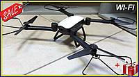 Квадрокоптер Jie Star Air Musha X9TW c WiFi камерой селфи-дрон складной вертолет