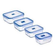 Контейнер LUMINARC pure box active набор прямоугольные Синий (N2620)