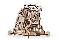 3D деревянный сборный механический конструктор Wood Trick Колесо фортуны 129750