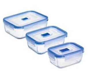Набор контейнеров Luminarc Pure Box Active 380 мл 820 мл 1220 мл N2618, фото 2
