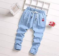 Джинсы детские летние Peppa 2740, фото 1