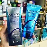 Сонцезахисний зволожуючий крем з колагеном Enough Collagen Moisture Sun Cream SPF 50+ PA+++, фото 3