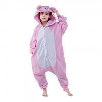 Кигуруми детский Свинка  размер 110,120,130