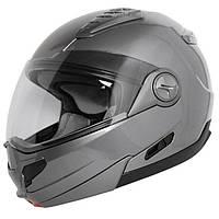 "Мотоциклетный Шлем-модуляр темно-серый Hawk ST-1198 ""Transition"" размер 2XL, фото 1"