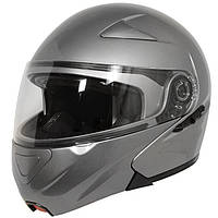 """Шлем-модуляр серого цвета Hawk GLD-913 """"Титан"""", фото 1"""