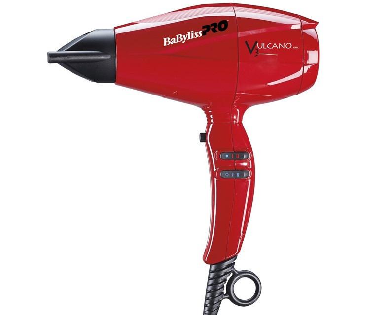 Фен для волос Babyliss BAB6180IRE Vulcano V3 Ionic с ионизацией, 2200 Вт