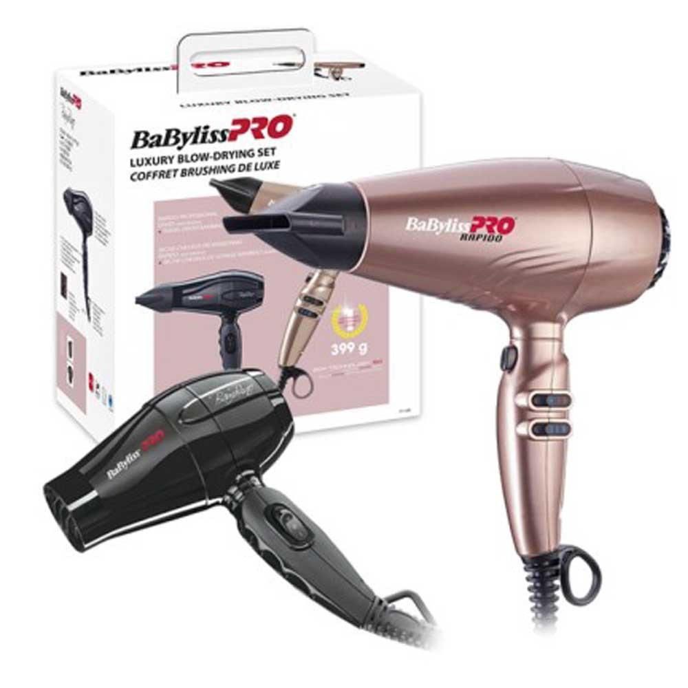 Набор BaByliss Pro Luxury Blow-Drying Set - фен Rapido BAB7000IRGE + мини фен Bambino BAB5510E