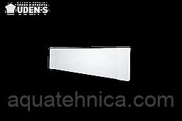 Тёплый керамический плинтус UDEN-S Uden-100 белый