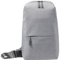 Рюкзак Mi multi-functional urban leisure chest Pack Light Grey