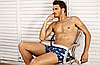 Мужские трусы -боксеры  PINK HERO   мини - шорты- боксерки ХЛОПОК / чоловічі труси боксери, фото 4