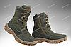 Берцы демисезонные / военная, тактическая обувь АЛЬФА (оливковый), фото 2