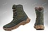Берцы демисезонные / военная, тактическая обувь АЛЬФА (оливковый), фото 4