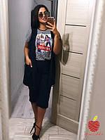 Женская футболка Супербатал