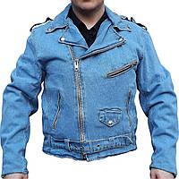 Мужская джинсовая куртка косуха фирмы Allstate (США), фото 1