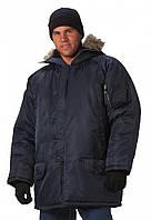 Мужская зимняя куртка парка N-3B фирмы Rothco темно синяя