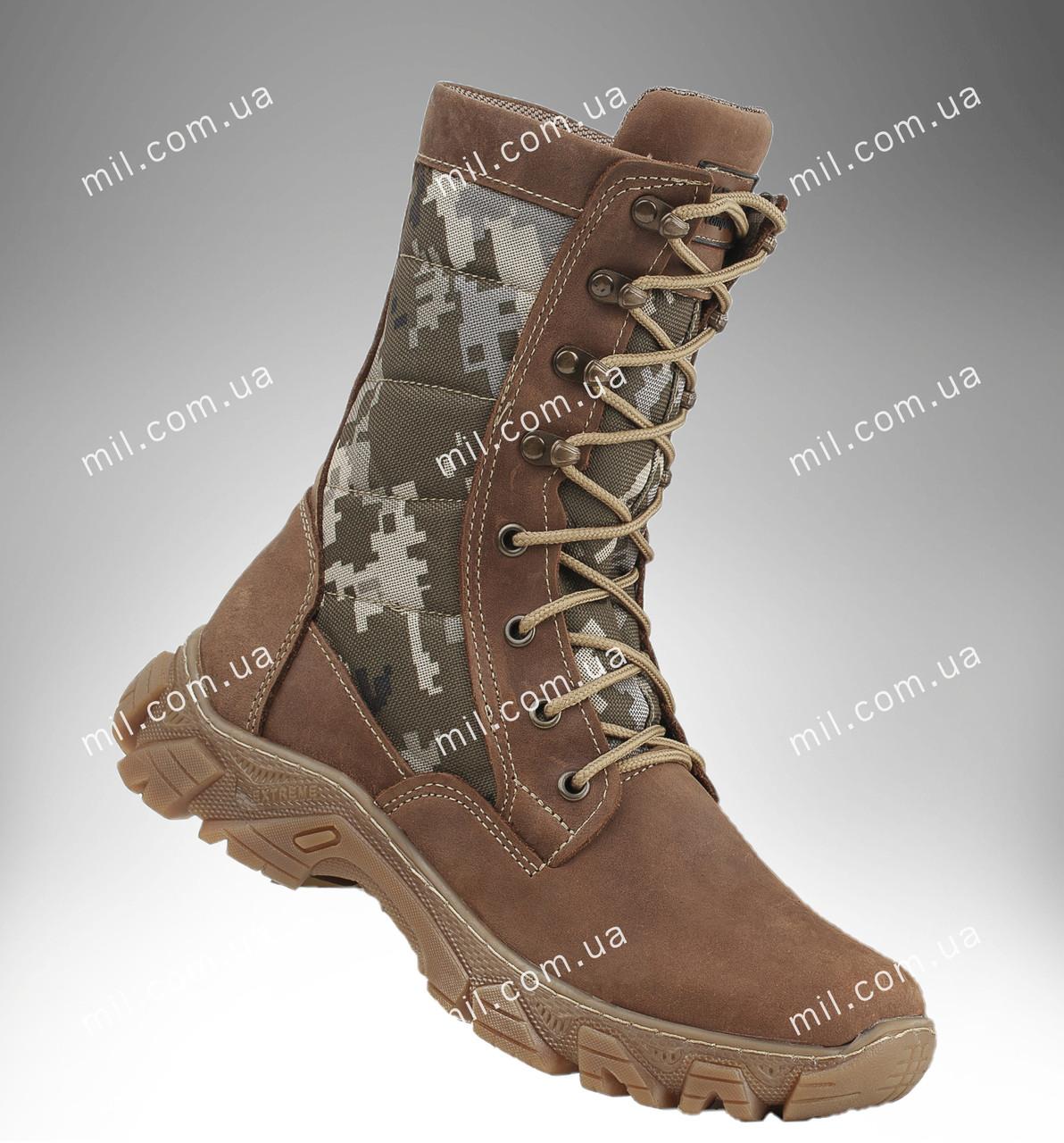 Берцы демисезонные / военная, тактическая обувь ДЕЛЬТА MM14 (пиксель)