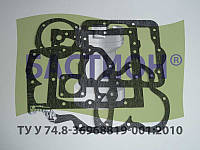 Ремкомплект прокладок коробки переключения передач ДТ-75 (78.37.002) (паронит 0,8)
