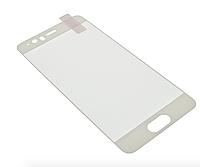 Защитное стекло для Huawei P10 2017, Full glue, (5D, с олеофобным покрытием), цвет белый