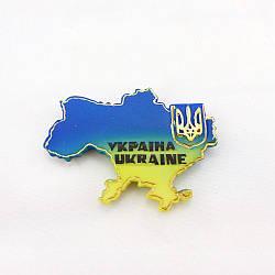 Магнит «Карта Украины» ZY40659