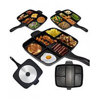 Сковорода универсальная UTM MAGIC PAN с покрытием Тефаль 5в1