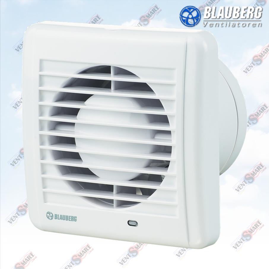 BLAUBERG Aero Still (Блауберг Аэро Стил 100 125 150) ― внешний вид бесшумных вентиляторов для ванной с малым энергопотреблением и высокой производительностью.