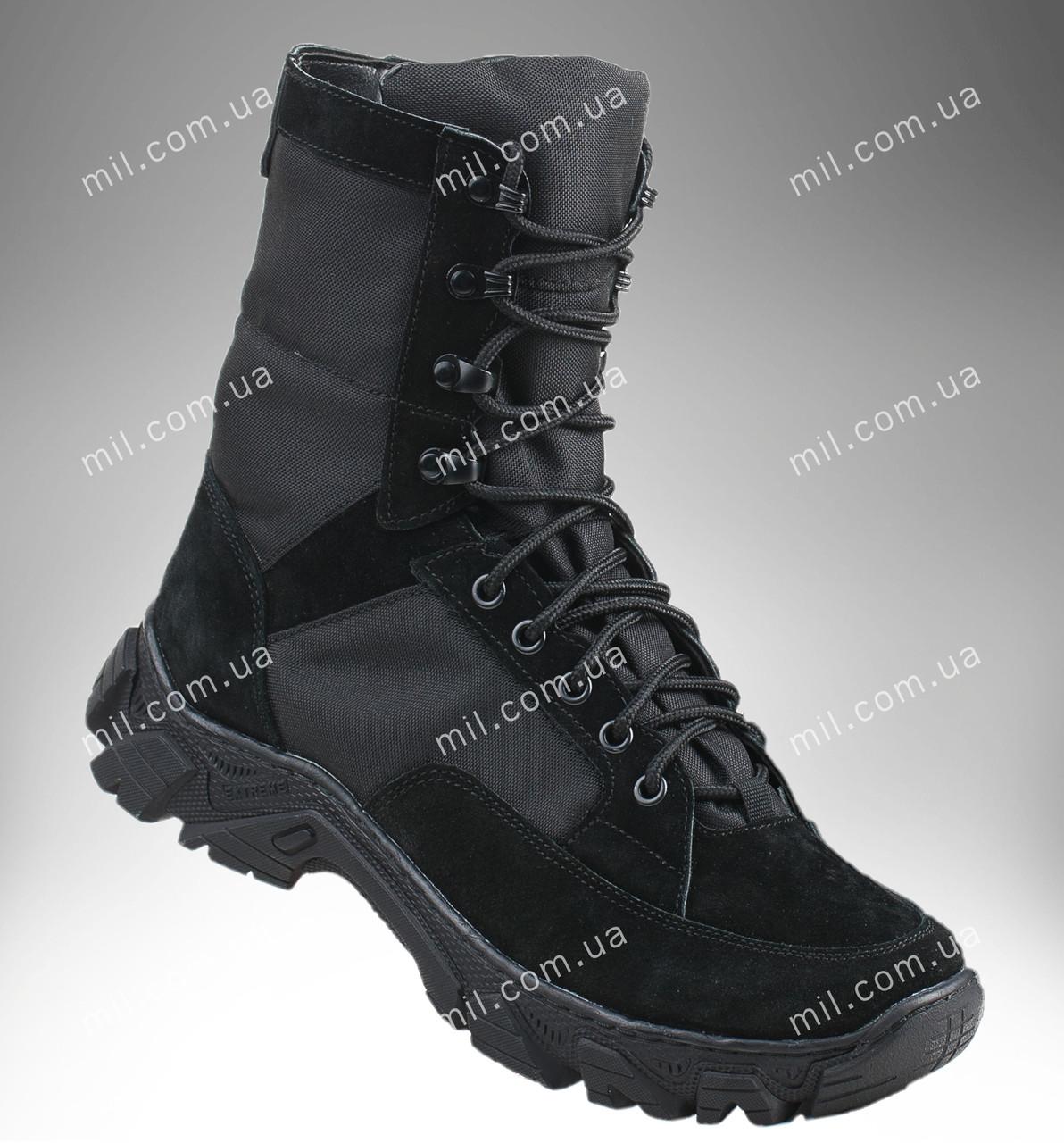 Берцы демисезонные / военная, армейская обувь ВАРЯГ Gen.II (черный)